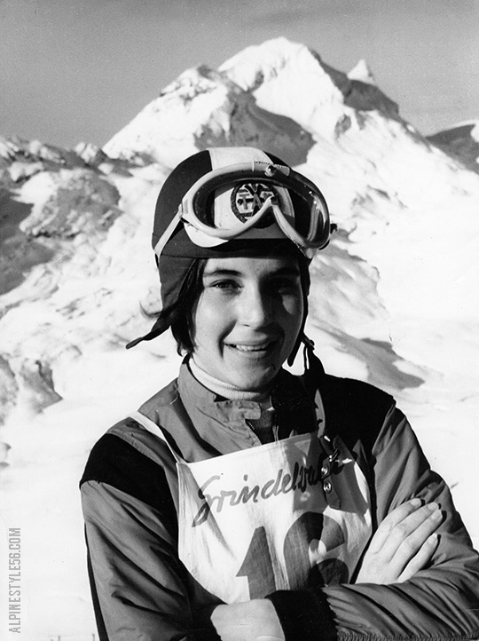 barbi henneberger ski race grindelwald switzerland