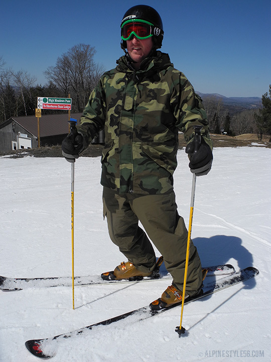army surplus jacket for skiing