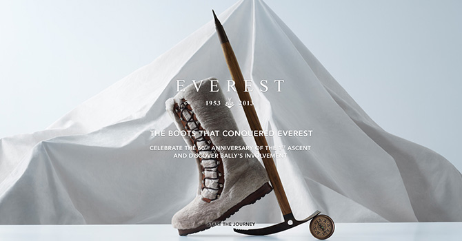 bally switzerland boots everest 60th anniversary