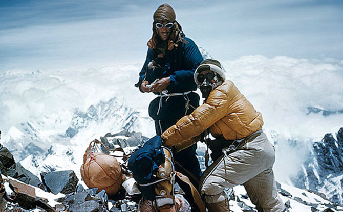 hillary norgay everest climb summit 1953