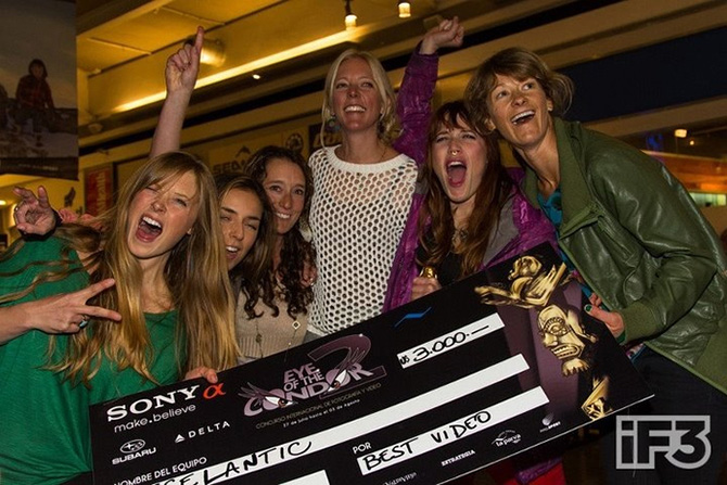 team icelantic winners eye condor la parva chile 2012