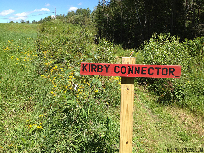 bike kingdom trails east burke vermont kirby connector