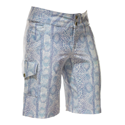 shredly elvira mountain bike short blue white