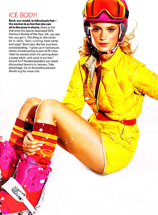 self magazine november 2013 snow hot snowboard kate bock