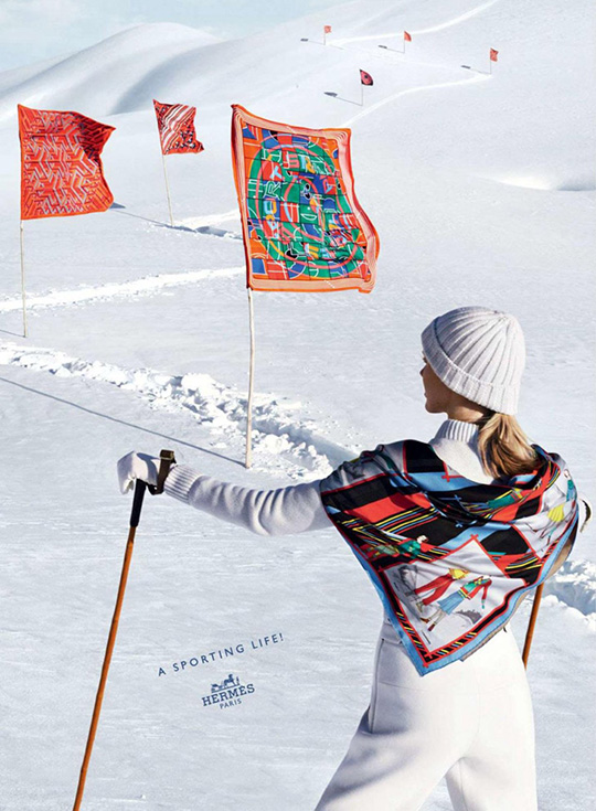 hermes FW 2013 luxury ski collection iselin steiro sporting life