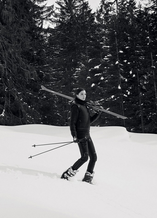hermes ski winter 2013 lookbook