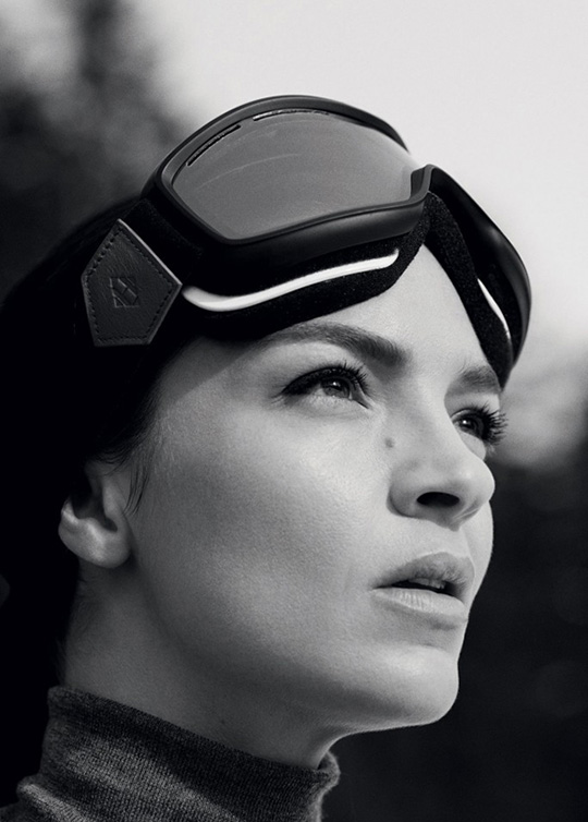 hermes ski winter 2013 lookbook goggles