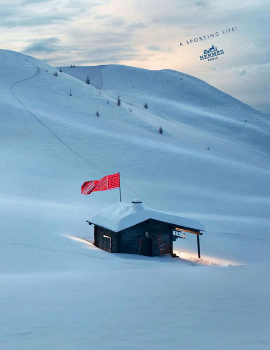 hermes FW 2013 luxury ski collection sporting life