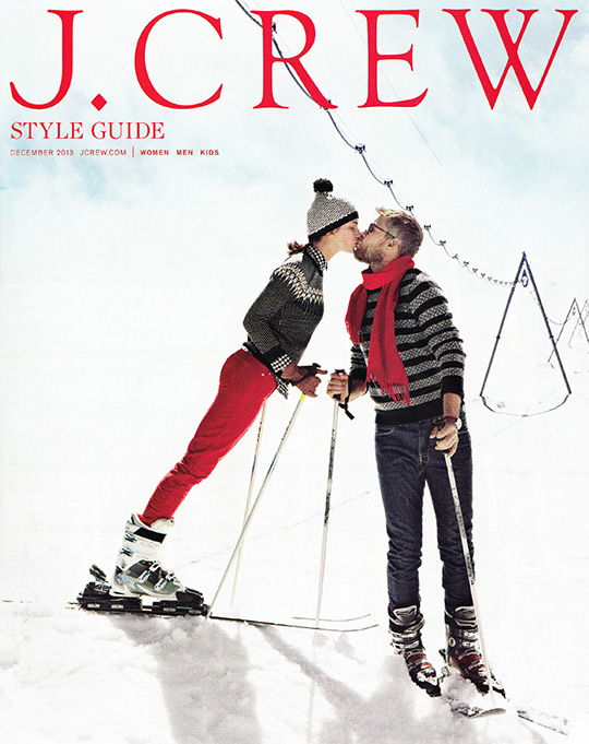 jcrew style guide december 2013 zermatt switzerland ski snow
