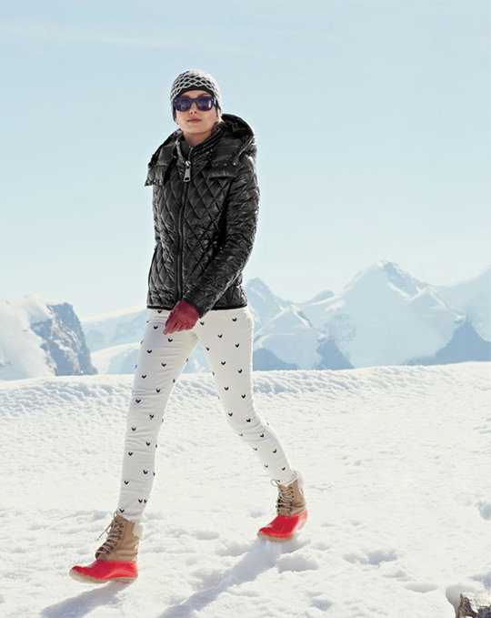 J Crew Style Guide on Snow