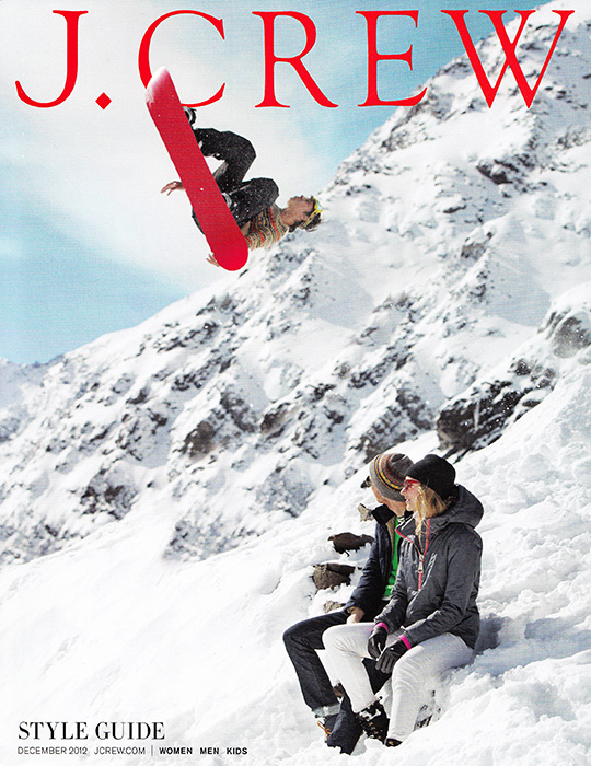 jcrew style guide december 2012 ski snowboard