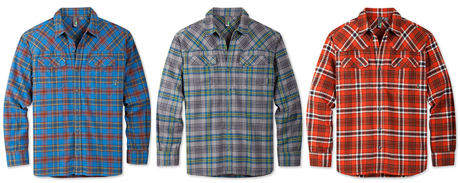 stio men junction flannel shirt plaid jackson hole wyoming