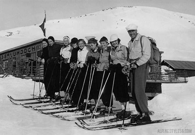 us american women olympic ski team 1936 olympics garmisch partenkirchen germany davos switzerland