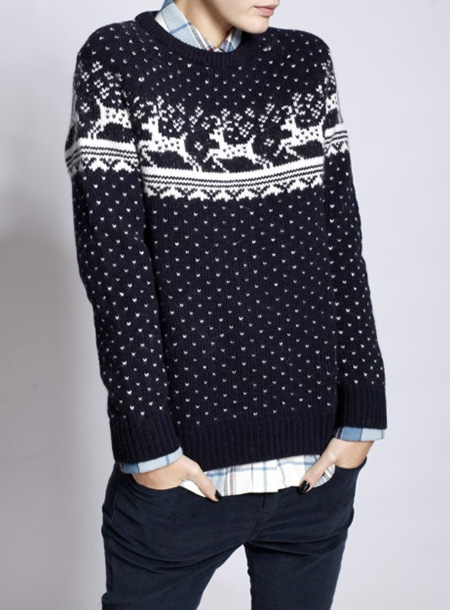 jack wills abbingdon knit sweater navy blue