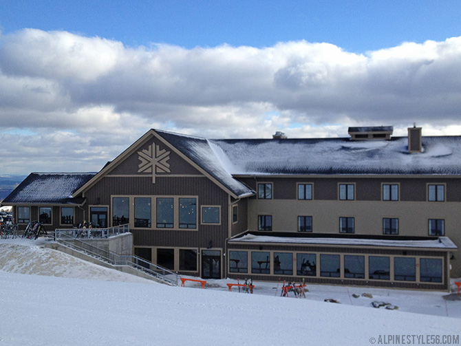 jay peak ski resort area new stateside lodge hotel 2013