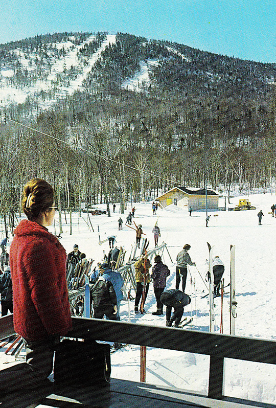 jay peak ski resort stateside lodge chalet vintage 1963