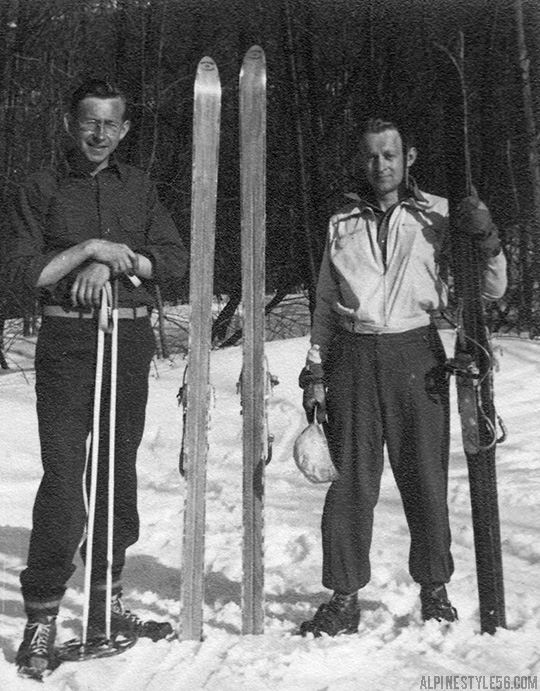 vintage ski tecumseh trail new hampshire