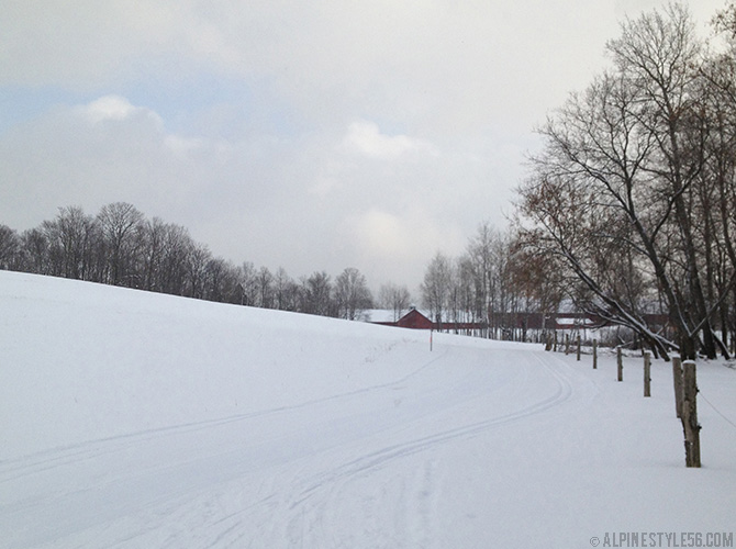 cross country nordic ski kingdom trails east burke vermont