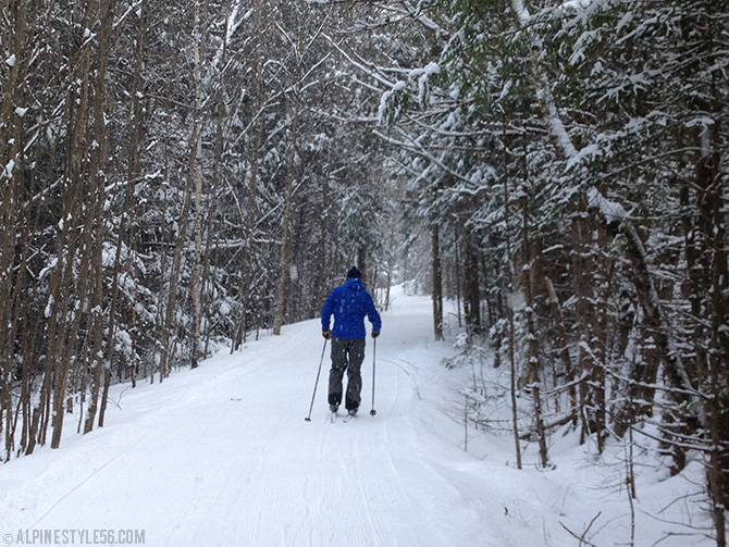 darling hill east burke vermont kingdom trails xc cross country ski bike