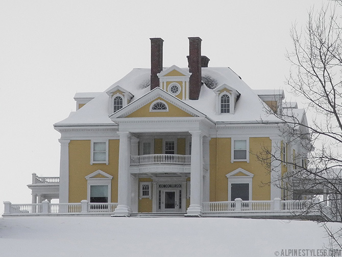 burklyn mansion darling hill road east burke lyndon vermont yellow