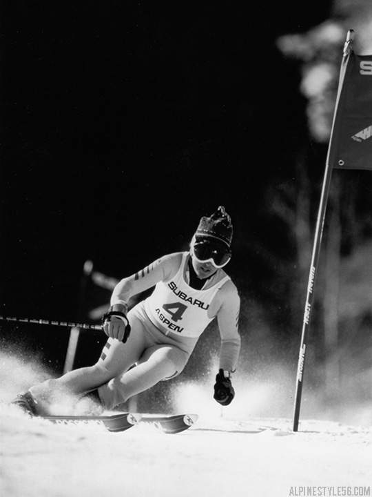 tamara mckinney ski race aspen winternational colorado