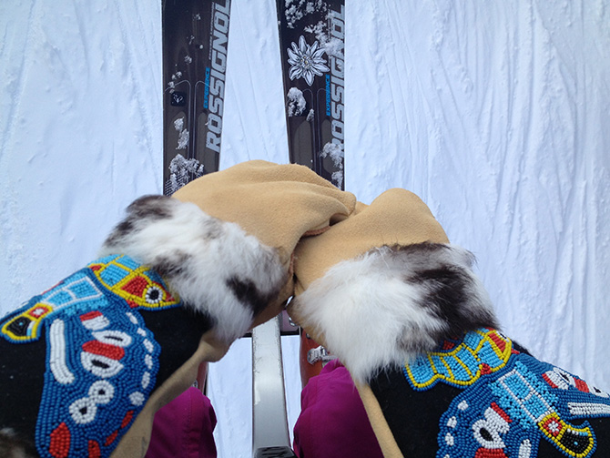 astis erling mitts mittens rossignol experience burke vermont