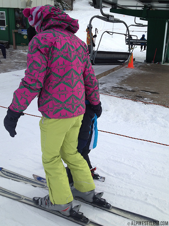 nike snowboard jacket native pattern