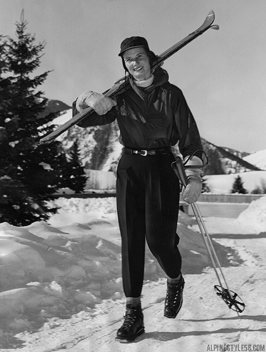 sun valley idaho lodge vintage ski woman mrs montgomery orr