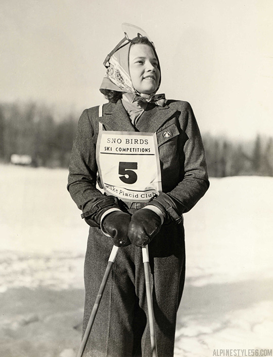 peggy johnson mcgill university montreal ski race winner lake placid new york son birds