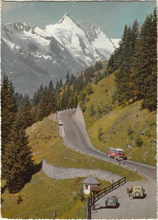 grossglockner austria high alpine road hochalpenstrasse alps
