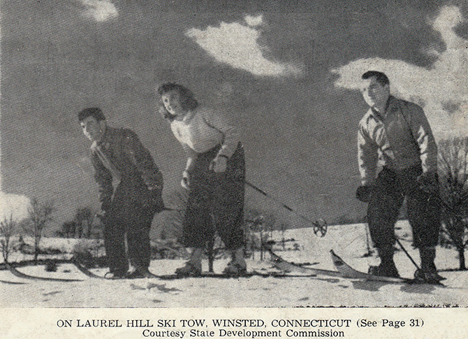 laurel hill ski tow winsted connecticut lost ski area