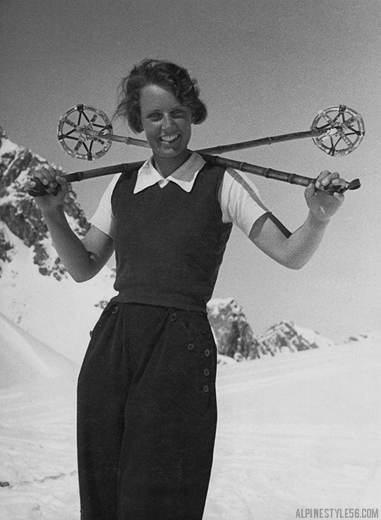vintage photo lothar rubelt ski model snow fashion vienna austria
