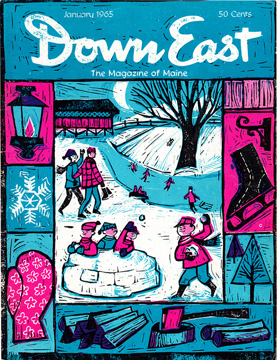down east magazine maine january 1965