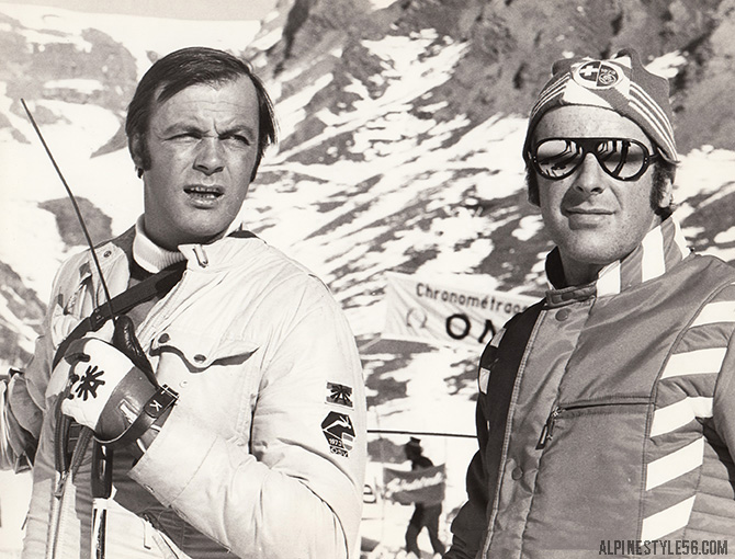 wengen switzerland lauberhorn downhill ski race 1975 toni sailer
