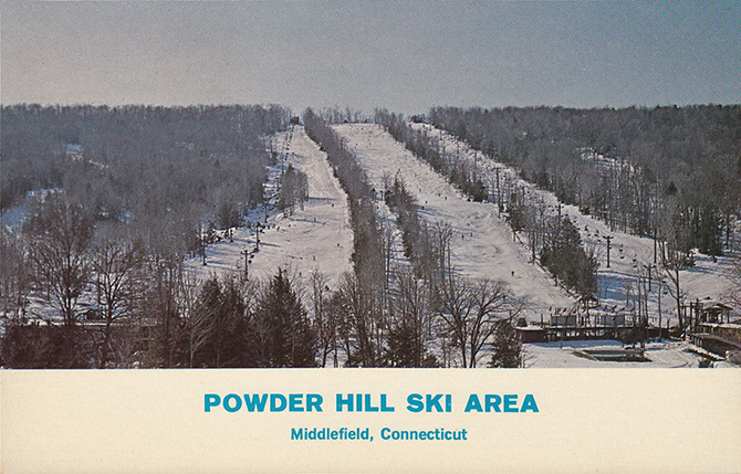 powder hill ski area middlefield connecticut scofield